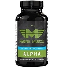 Alpha supplement from Marine Muscle