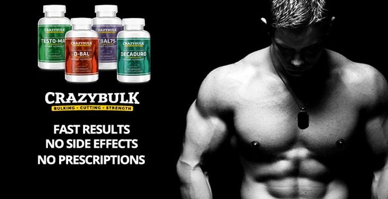 The Bulking Stack supplements from Crazy Bulk