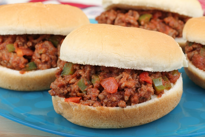 Food after exercising - Sloppy Joe Sandwiches