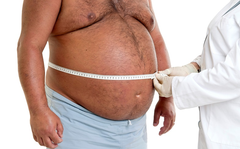 Obese man have low level of man's hormones