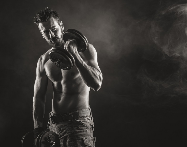 How does testosterone increase muscle mass