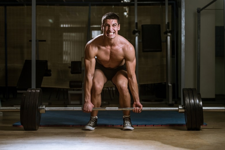 Deadlift is a part of military workout routine