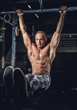 Hanging Leg Raises core strength training