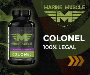 Marine Muscle Banners - Colonel