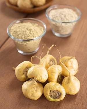 Maca is one of the ingredients