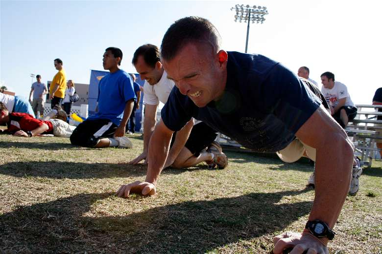 Examples of Navy Seal exercises