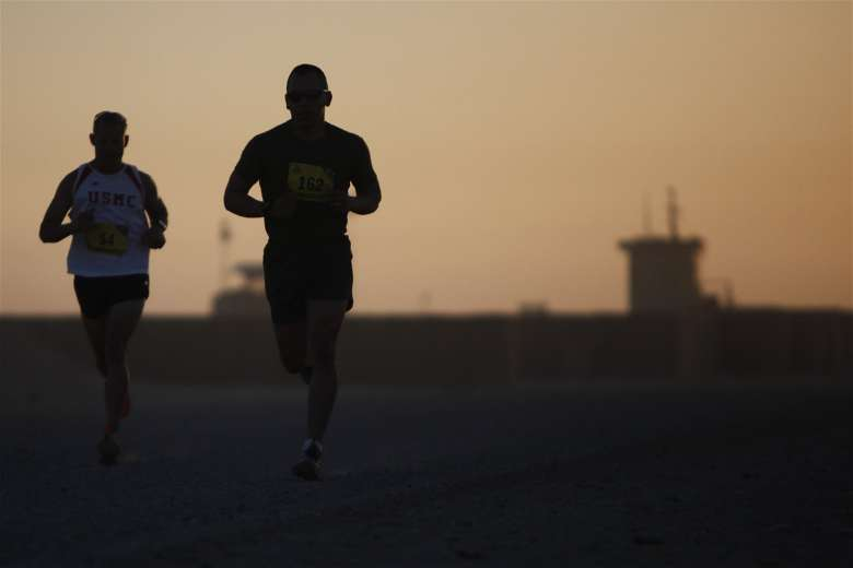 Navy training for cardiovascular endurance