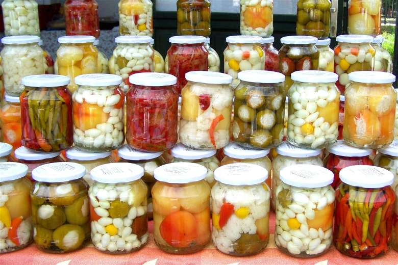 Pickles are packed with probiotics
