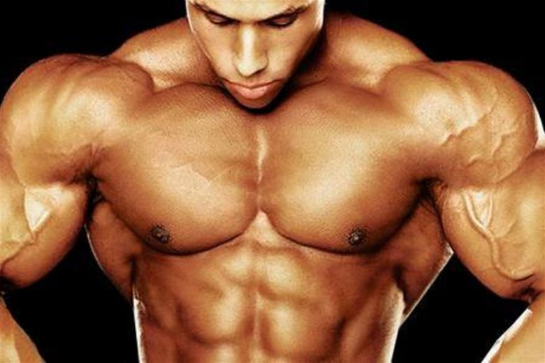 Identify steroid users by observing weird upper body muscles