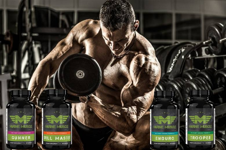 Bulking products from Marine Muscle