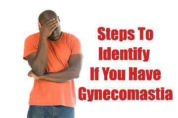 How to identify gynecomastia