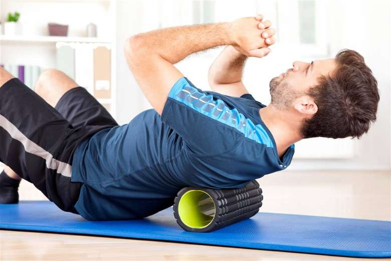 Foam roll workouts are good for warming up