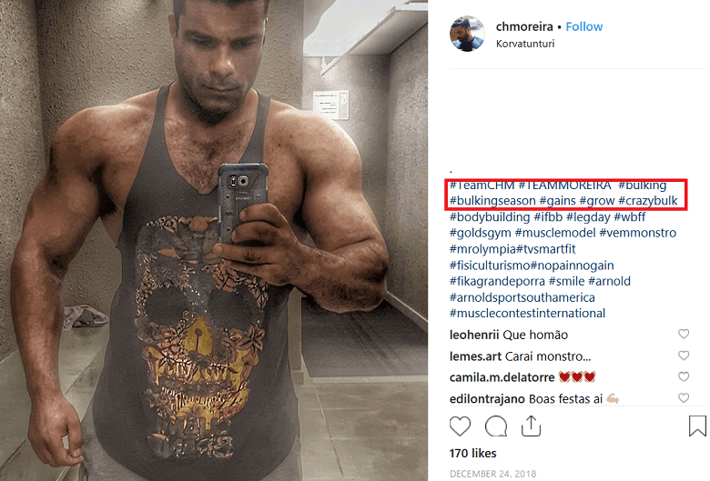 Crazybulk user testimnoinal