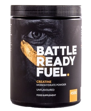 Battle Ready Fuel Creatine container