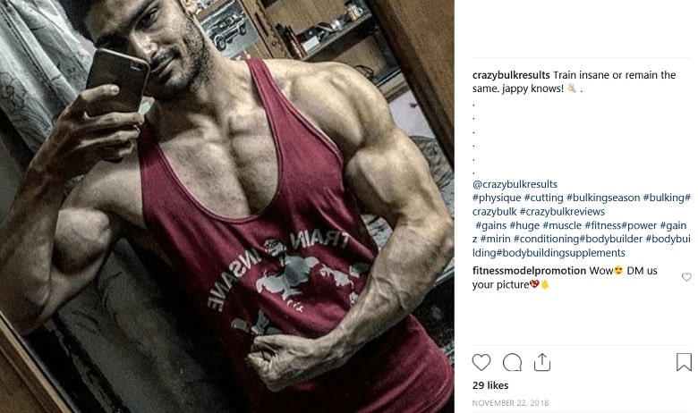 Legal steroids bulking results